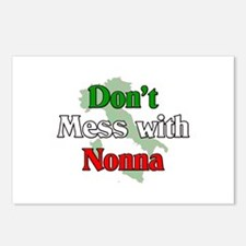 Don't mess with Nonna Postcards (Package of 8)