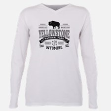 Yellowstone Vintage Plus Size Long Sleeve Tee