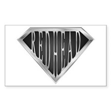 SuperRedhead(metal) Rectangle Decal
