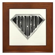 SuperRedhead(metal) Framed Tile