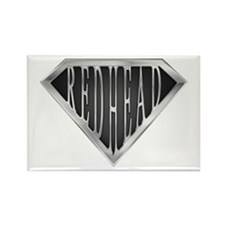SuperRedhead(metal) Rectangle Magnet