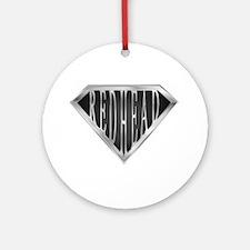 SuperRedhead(metal) Ornament (Round)