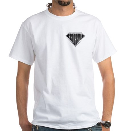 SuperRedhead(metal) White T-Shirt