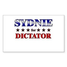 SYDNIE for dictator Rectangle Decal
