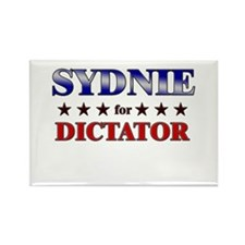 SYDNIE for dictator Rectangle Magnet