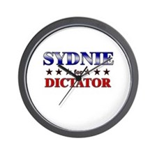 SYDNIE for dictator Wall Clock