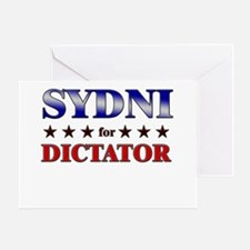 SYDNI for dictator Greeting Card