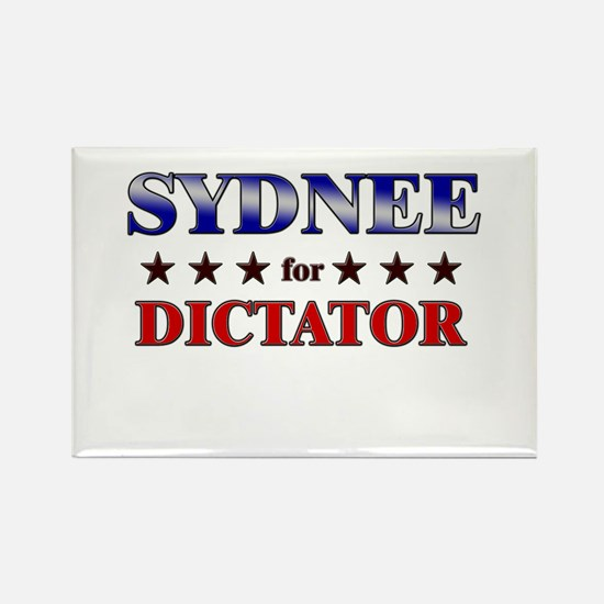 SYDNEE for dictator Rectangle Magnet