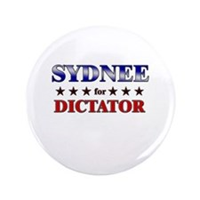 "SYDNEE for dictator 3.5"" Button"