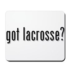got lacrosse? Mousepad