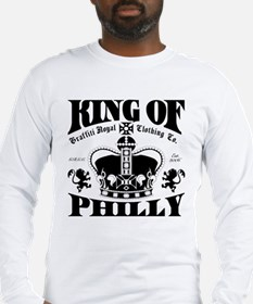 """""""KING OF PHILLY"""" Long Sleeve T-Shirt"""