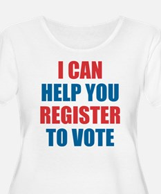I CAN HELP YOU REGISTER TO VOTE VOLUNTEER VOTER Pl