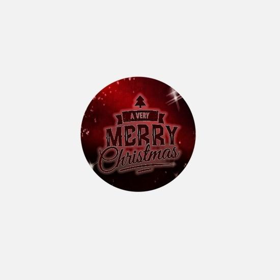 Christmas Xmas Mini Button