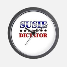 SUSIE for dictator Wall Clock