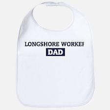 LONGSHORE WORKER Dad Bib