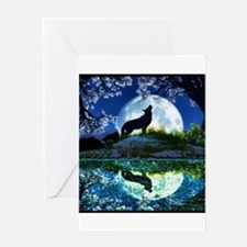 Coyote Moon Greeting Cards