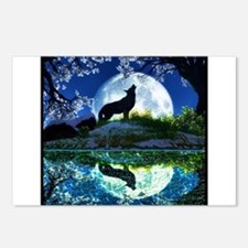 Coyote Moon Postcards (Package of 8)