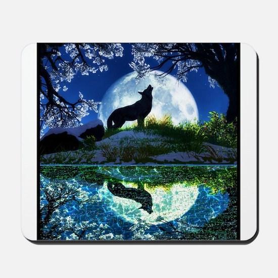 Coyote Moon Mousepad
