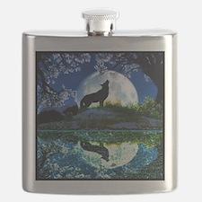 Coyote Moon Flask