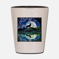 Coyote Moon Shot Glass