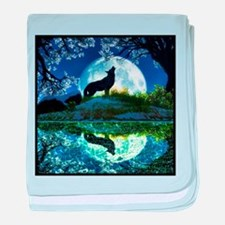 Coyote Moon baby blanket