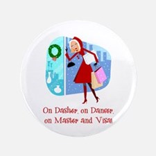 "Master and Visa 3.5"" Button"