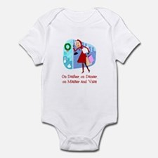 Master and Visa Infant Bodysuit