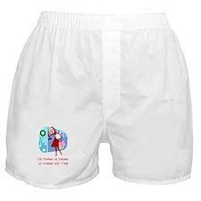 Master and Visa Boxer Shorts
