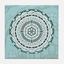 Lotus Weave Tile Coaster
