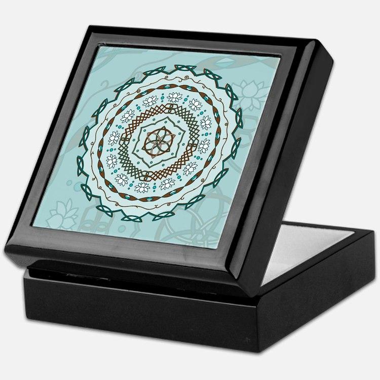 Lotus Weave Keepsake Box