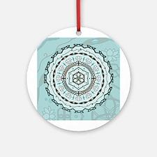 Lotus Weave Ornament (Round)