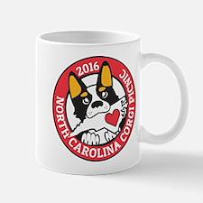 2016 NC Corgi Picnic logo-red border Mug
