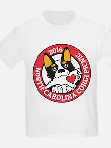2016 NC Corgi Picnic logo-red b T-Shirt