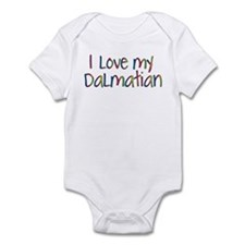 Pet Dalmation Infant Bodysuit