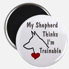 My Shepherd Thinks... Magnet
