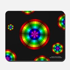Rainbow Illusion Mousepad