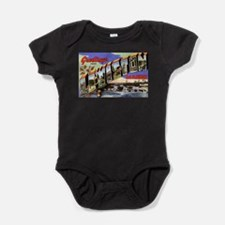 Cute Lewiston maine Baby Bodysuit