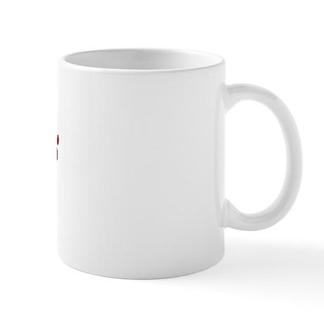 Cosmo Paw Prints Mug