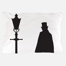 Jack The Ripper and Street Light Pillow Case