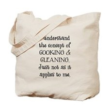 Cooking & Cleaning Tote Bag