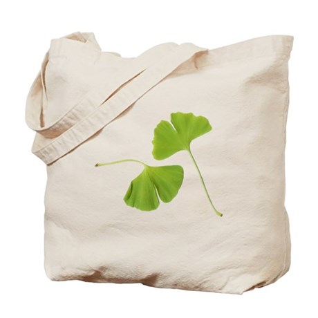Ginkgo Biloba Leaves Tote Bag