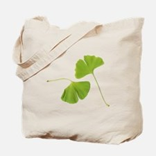 Ginkgo Biloba Leaves Tote Bag