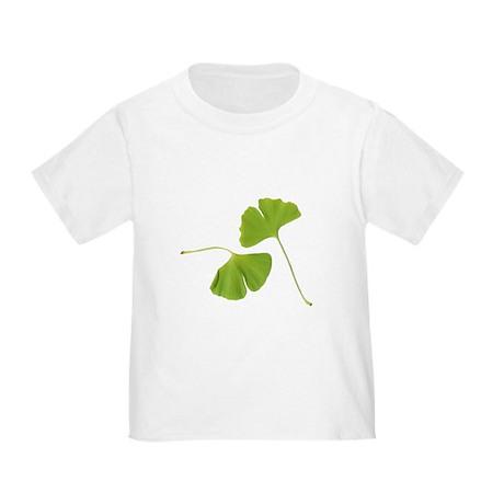 Ginkgo Biloba Leaves Toddler T-Shirt