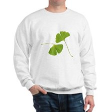 Ginkgo Biloba Leaves Sweatshirt