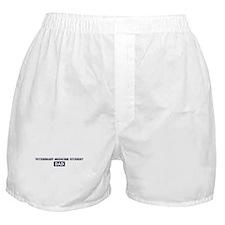 VETERINARY MEDICINE STUDENT D Boxer Shorts