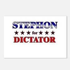 STEPHON for dictator Postcards (Package of 8)