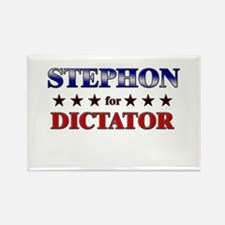 STEPHON for dictator Rectangle Magnet