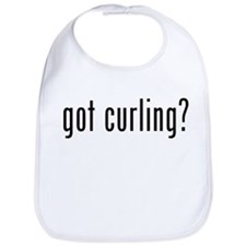 got curling? Bib