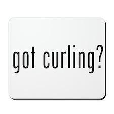 got curling? Mousepad