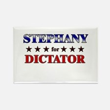 STEPHANY for dictator Rectangle Magnet